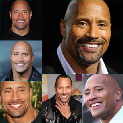 Dwayne smile 1 montage