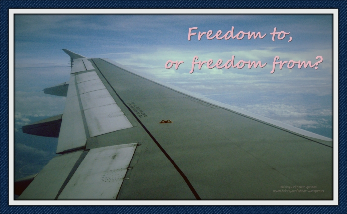 Freedom to or freedom from_Fotor