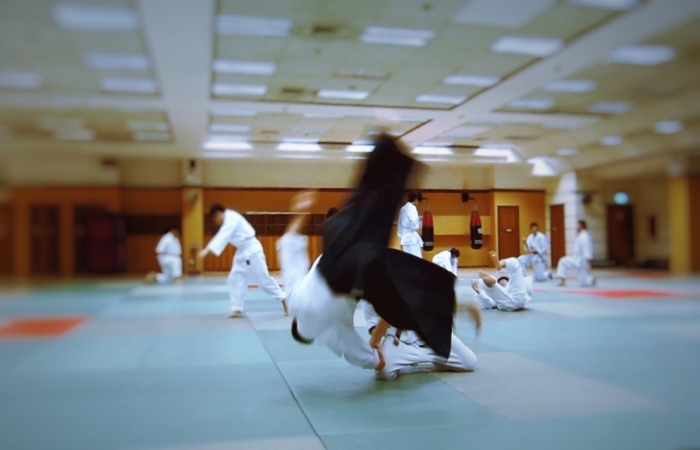 Aikido is action