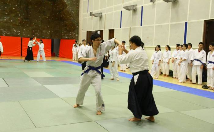 成为一个Aikido. Teacher
