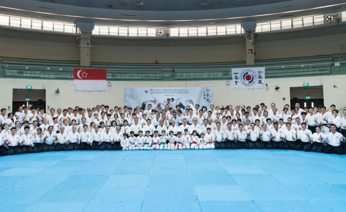Harry sensei at the 5th All Aikido Shinju-Kai Demonstration and Seminar-June2017