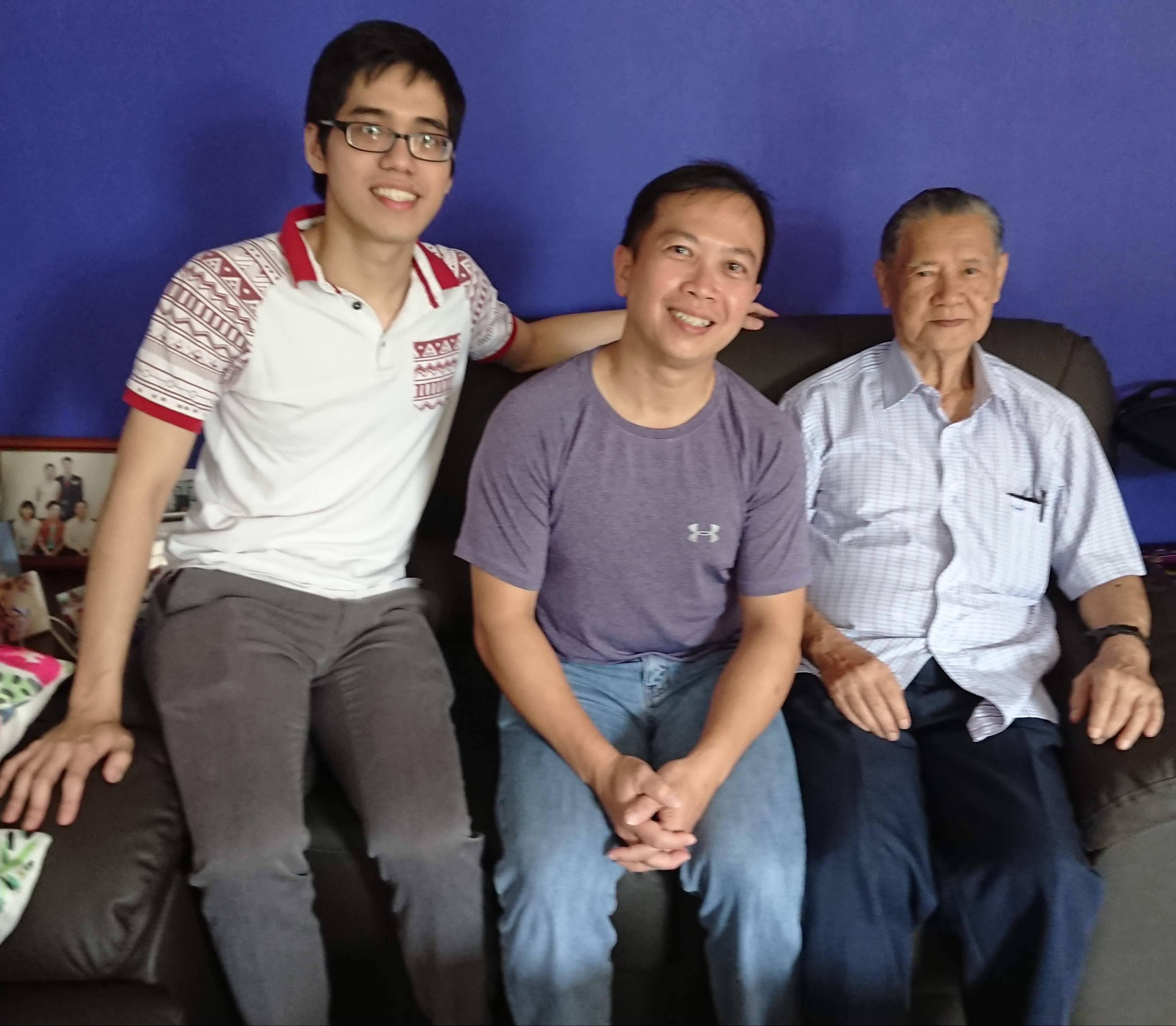 Lim Joo Lay sensei, 3rd Dan, Aikikai