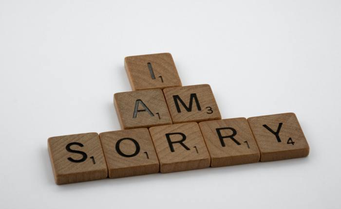 Apologizing- Wayne's version